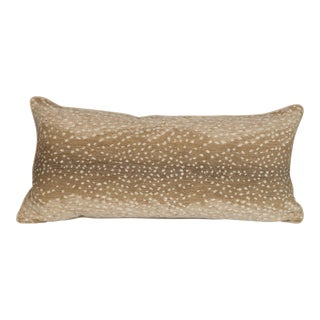 Khaki Large Antelope Lumbar Pillow