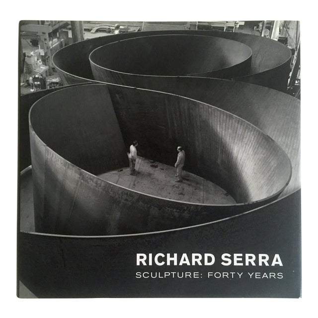 """""""Richard Serra Sculpture : Forty Years """" Rare Moma Exhibition Hardcover 1st Edtn Book For Sale"""