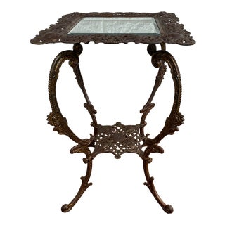 Bradley and Hubbard Style Accent Table For Sale
