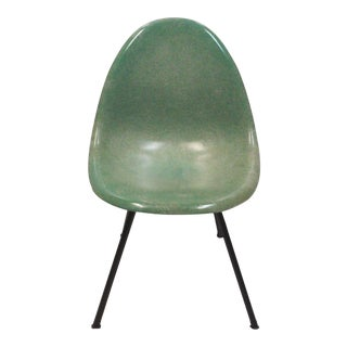Mid Century. Fiberglass Shell Chair For Sale