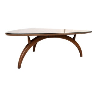 Henredon Modern Triangular Coffee Table For Sale