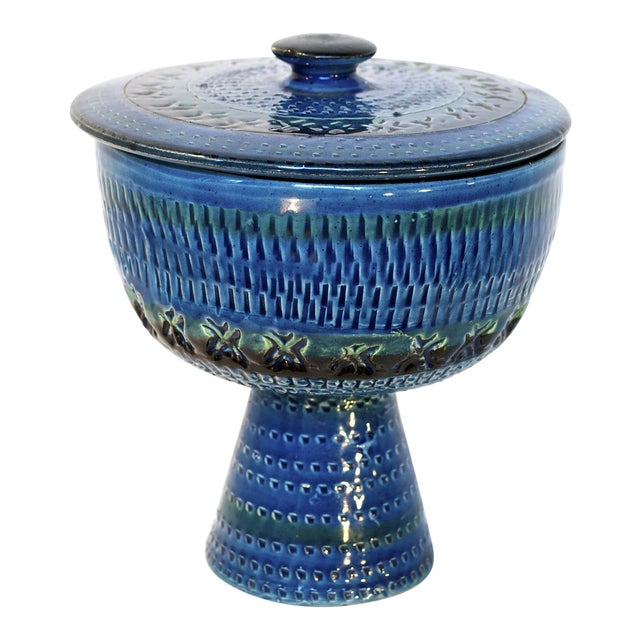 Bitossi Rimini Blue Weedpot - Image 1 of 7