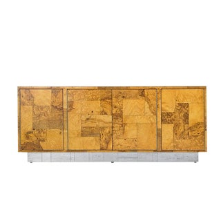 Paul Evans for Directional Cityscape Patchwork Credenza / Cabinet For Sale