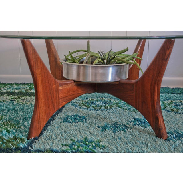 1649-PT Adrian Pearsall Coffee Table W/ Planter - Image 4 of 8