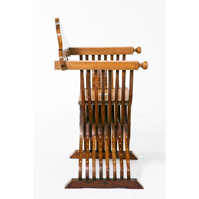 Mid 19th Century 19th Century Savonarola Chairs - a Pair For Sale - Image 5 of 10