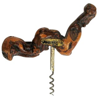 Bordeaux France Grapevine Corkscrew For Sale
