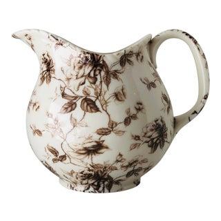 Porcelain Transfer-Ware Pítcher For Sale