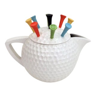 Ceramic Golf Pitcher