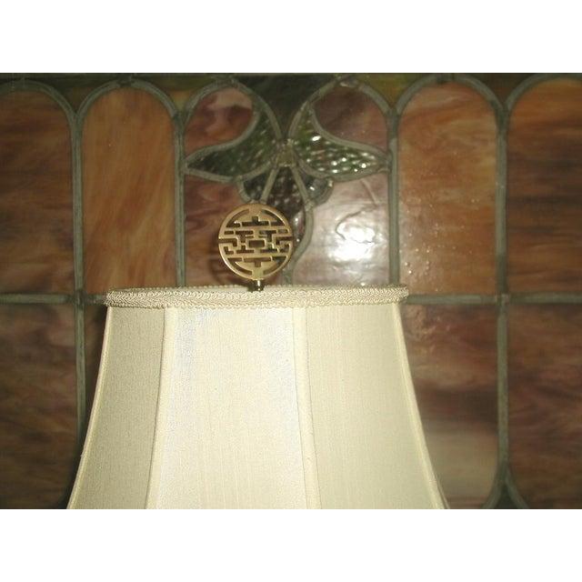 Brass Oriental Lamp Large, 3 Way Lighting - Image 5 of 9