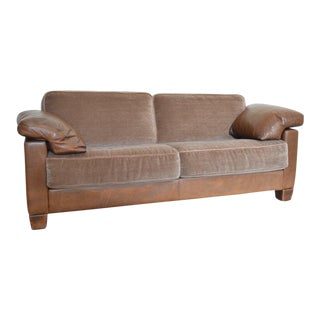 Desede Leather Two-Seater Sofa For Sale