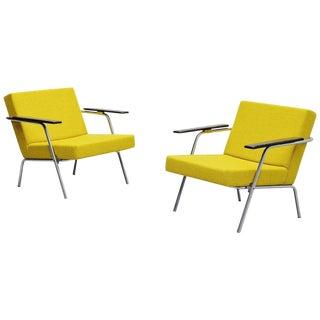 Martin Visser SZ02 Easy Chairs Pair 't Spectrum, 1964