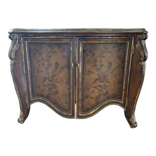 Marge Carson Vouvray Marble Top Chest/Nightstand For Sale