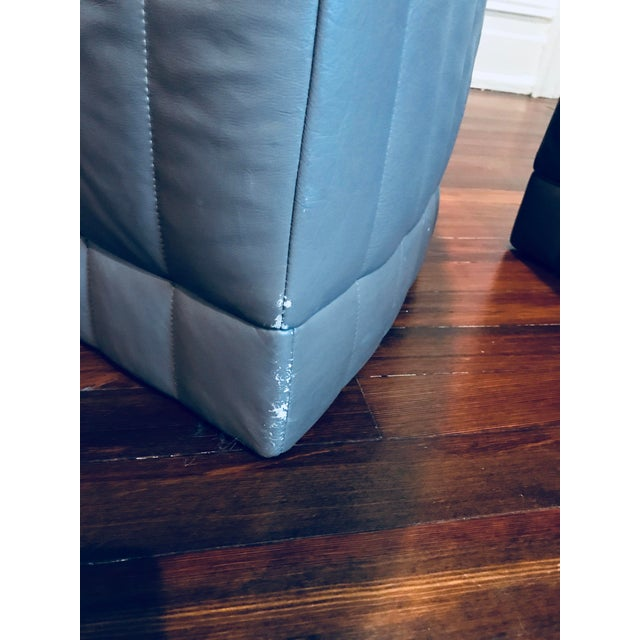 Roche Bobois Leather Sectional Sofa - Image 7 of 11