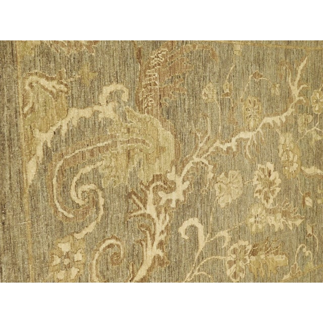 """Hand-Knotted Pakistan Rug - 3'5"""" x 4'10"""" - Image 3 of 10"""