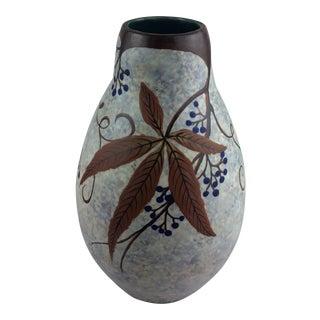 Art Deco Ceramic Vase by Louis Auguste Dage For Sale