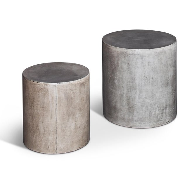 Free from any ornamental or decorative details, the Una Pedestal Pair is defined by its material: solid fiber-reinforced...