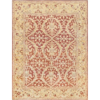 """Mansour Genuine Handwoven Agra Rug - 7'11"""" X 10'1"""" For Sale"""