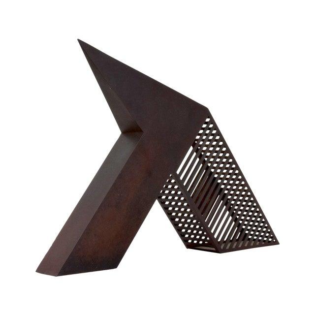 Contemporary Modern Minimalist Desk Sculpture by John Raimondi For Sale - Image 3 of 8
