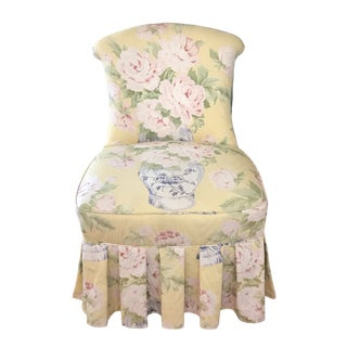 Early 20th Century Vintage Boudoir Chair For Sale