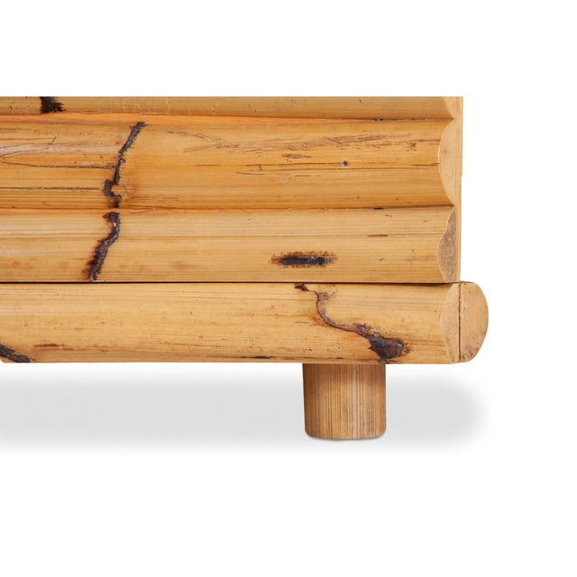 Wood Venturini Bamboo Chest of Drawers For Sale - Image 7 of 10