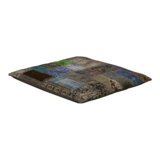 Modern Rug Floor Pillow For Sale
