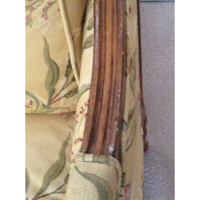 Textile Century Furniture French Settee For Sale - Image 7 of 9