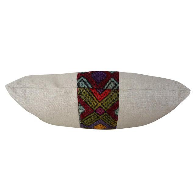 Kilim Band Kidney Pillow - Image 4 of 5