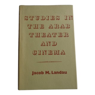 """Studies in the Arab Theater and Cinema"" Vintage Book For Sale"