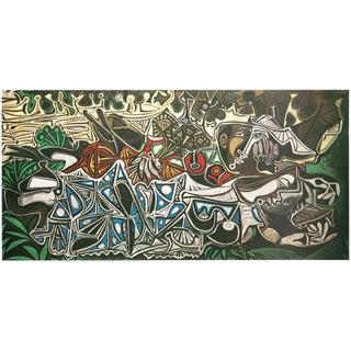 1971 Picasso, Parisian Period Photogravure Les Demoiselles Des Bords De La Seine For Sale
