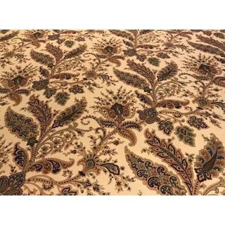 "Ralph Lauren ""Northcliffe Paisley"" Italian Cotton Paisley Print Fabric For Sale"