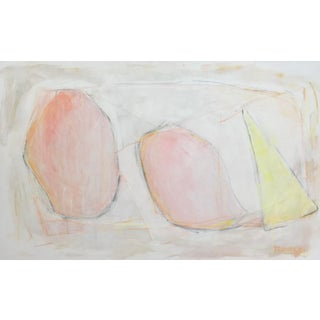 The Shape of Things, Contemporary Abstract Painting by Sarah Trundle For Sale