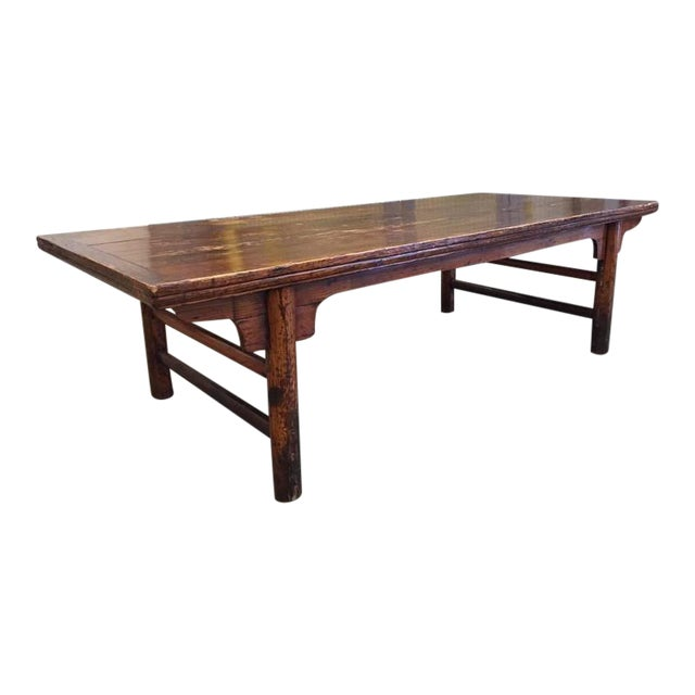Antique Chinese Huanghuali Hardwood Table For Sale