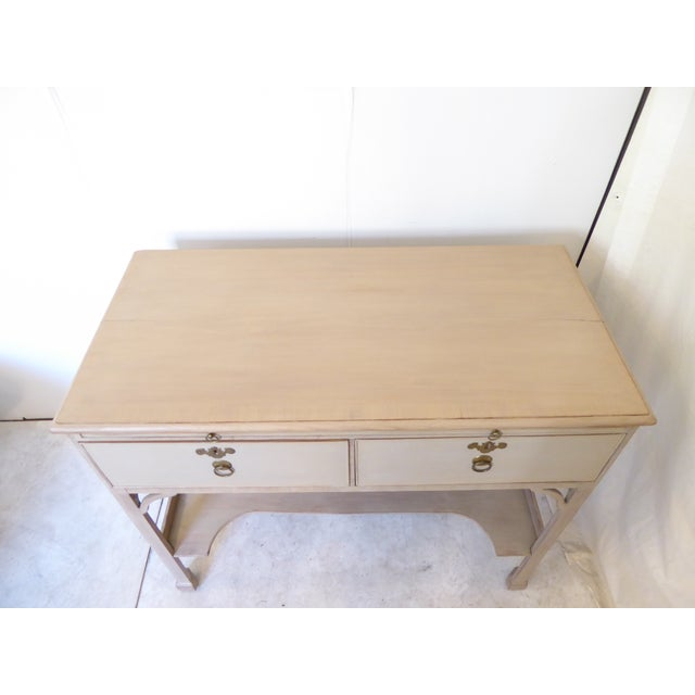 Antique Chinese Chippendale Style Console For Sale - Image 4 of 11
