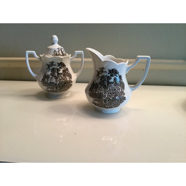 Royal Staffordshire Stratford Stage Brown Ironstone - Set of 3 - Image 4 of 6