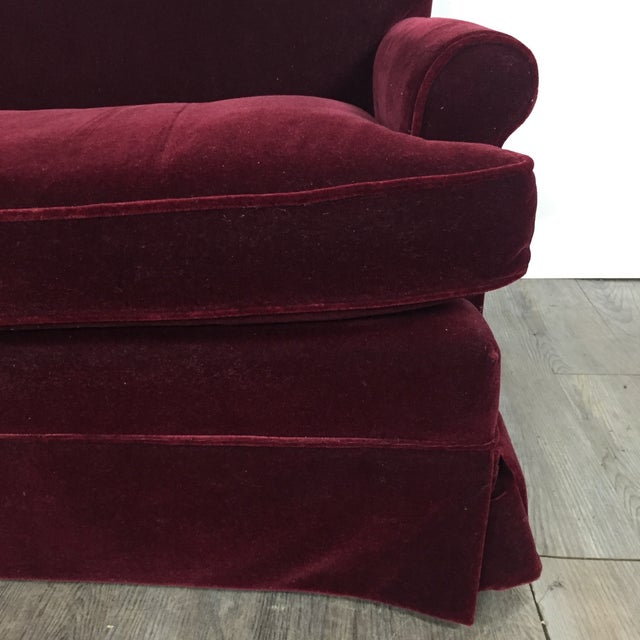 Vintage Mohair Sofa - Image 8 of 11