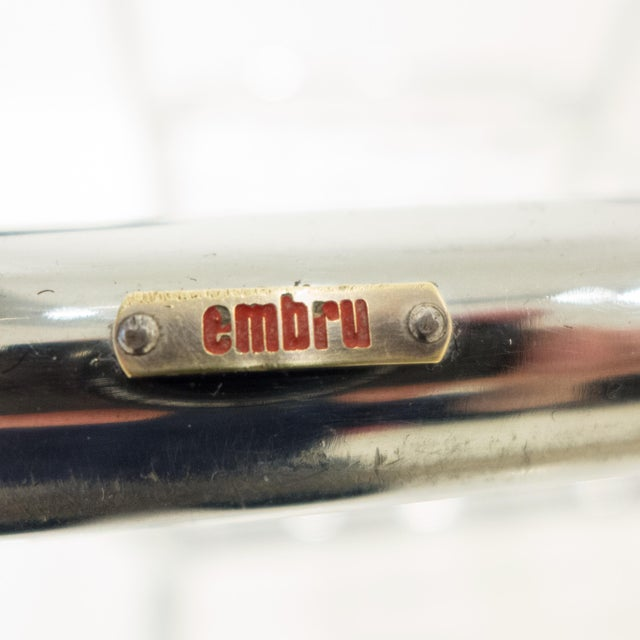 Werner Max Moser Tubular Steel Armchair for Embru Werke - Image 11 of 11