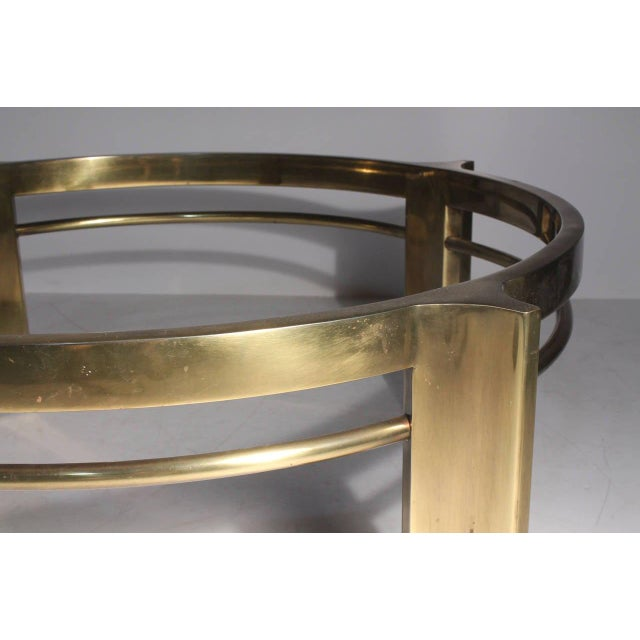 Mid 20th Century Mastercraft Brass Coffee Table For Sale - Image 5 of 6