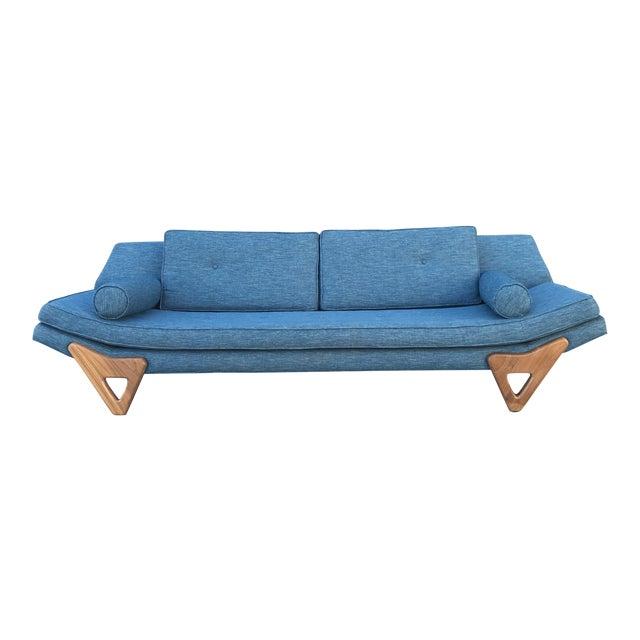 "Adrian Persall Inspired ""Gondola"" Sofa/ Custom Made For Sale"