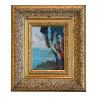 Juan Guzman Ojai California Seascape/Landscape Framed Oil Painting For Sale