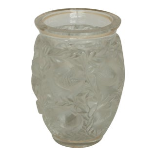 Mid 20th Century Lalique Bagatelle Vase For Sale