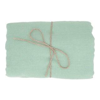 Mint Linen Tablecloth 260 x 350 For Sale