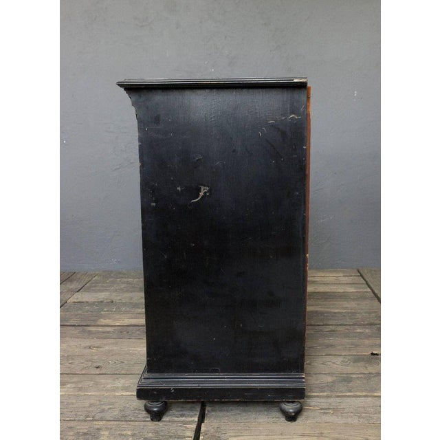 Wood French 19th Century Napoleon III Filing Cabinet For Sale - Image 7 of 9