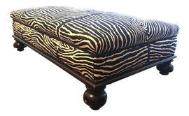 Image of African Ottomans and Footstools