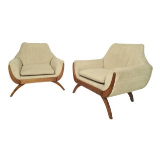 Mid-Century Modern Adrian Pearsall Chairs For Sale