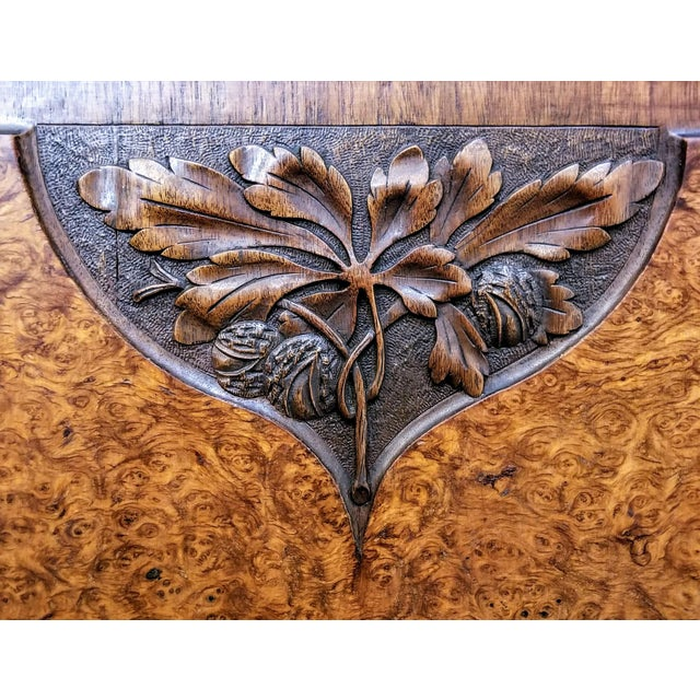Bronze 1900s Art Nouveau Gauthier-Poinsignon Ecole Nancy Main Buffet For Sale - Image 7 of 13