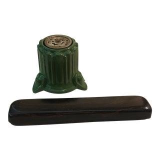Eagle Ceramic Electric Cigar Lighter & Cigar Case