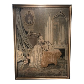 18th Century Antique French Tapestry For Sale
