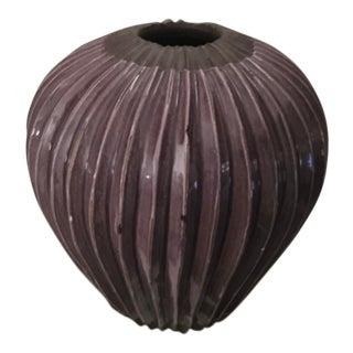 Vintage Amethyst Studio Pottery Vase