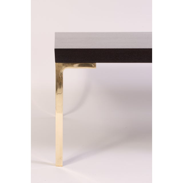 Astor Cocktail Table in Ebonized Walnut by Montage For Sale - Image 4 of 7