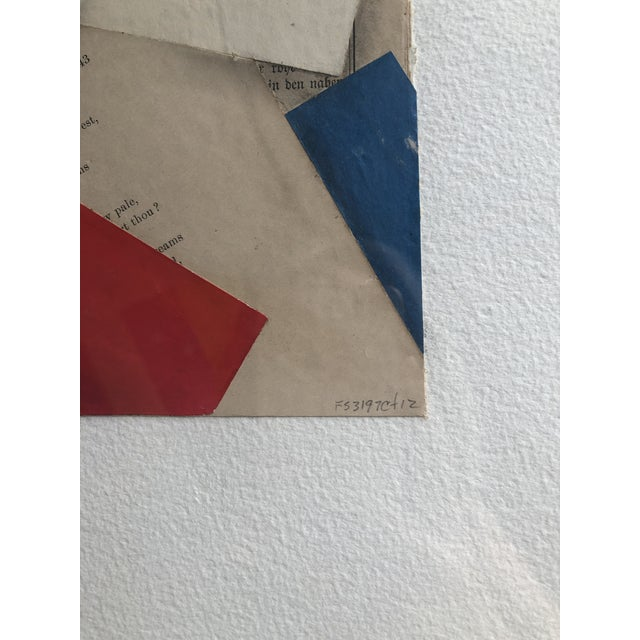 """Contemporary """"FS3197ct12"""" Collage by Cecil Touchon For Sale In West Palm - Image 6 of 8"""